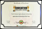 Education Excellence Award 2014-15
